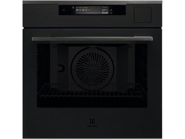 Electrolux KOAAS31WT  SteamPro fekete beépíthető gőzsütő, Sous Vide, Steamify, WIFI, TFT érintőkijelző, Assisted Cooking, maghőmérő