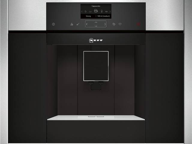 NEFF C15KS61N0 Beépíthető automata kávéfőző