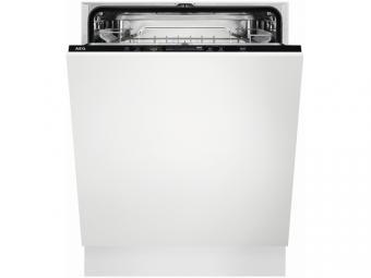 AEG FSB53637Z Beépíthető mosogatógép, QuickSelect kezelőpanel, AirDry, 13 teríték, LED kijelző