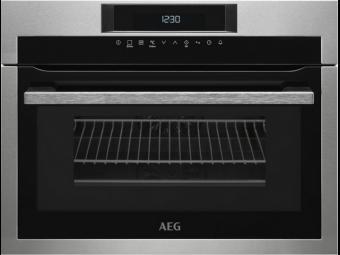 AEG KME761000M kompakt sütő mikrohullámmal