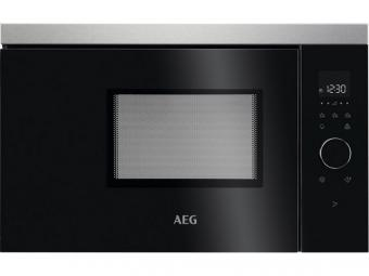 AEG MBB1756SEM Beépíthető mikrohullámú sütő, érintőkijelző, kedvencek funkció