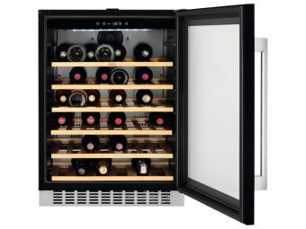AEG SWB66001DG Beépíthető borhűtő, 52 palack, 82 cm