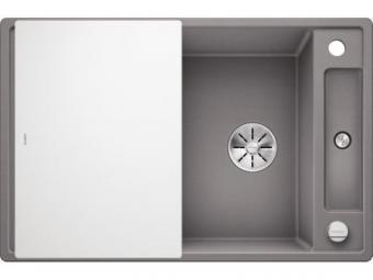 Blanco AXIA III 45S gránit mosogatótál üveg vágólappal  - alumetál