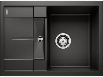 Blanco Metra 45S Compact gránit mosogatótál - fekete