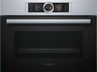 Bosch CSG656BS1 kompakt gőzsütő