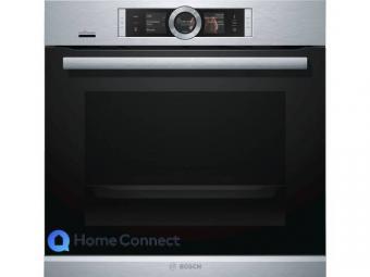 Bosch HRG6769S6 piroltikus sütő gőz funkcióval - Home Connect