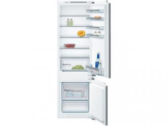 Bosch KIV87VF30 beépíthető kombinált hűtőszekrény