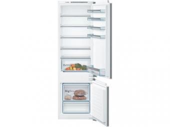 Bosch KIV87VFF0 beépíthető kombinált hűtőszekrény