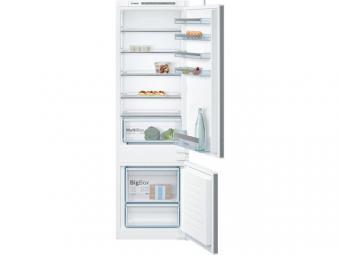 Bosch KIV87VSF0 beépíthető kombinált hűtőszekrény