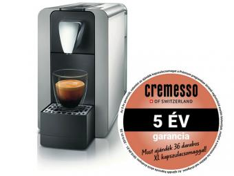 Cremesso Compact One II kapszulás kávéfőző - ezüst