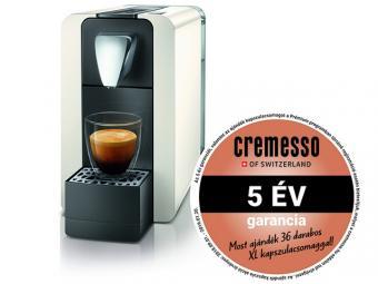 Cremesso Compact One II kapszulás kávéfőző - krém fehér