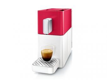 Cremesso EASY kapszulás kávéfőző - piros - fehér - utolsó darab