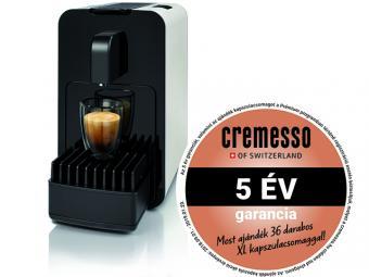 Cremesso Viva B6 kapszulás kávéfőző - fehér + ajándék