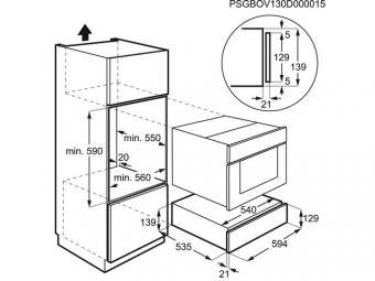 Electrolux KBD4X melegentartó fiók