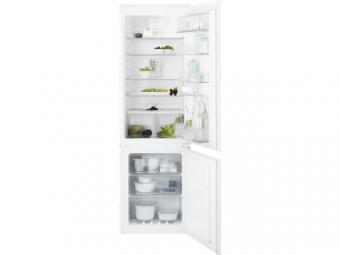 Electrolux ENN2851AOW beépíthető kombinált hűtőszekrény