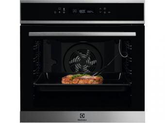 Electrolux EOE7P31X SenseCook beépíthető sütő, maghőmérő, pirolitikus tisztítás, LCD kijelző