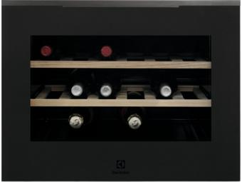 Electrolux KBW5T Beépíthető borhűtő, 18 palack, 45 cm