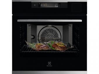 Electrolux KOAAS31WX SteamPro beépíthető gőzsütő, Sous Vide, Steamify, WIFI, TFT érintőkijelző, Assisted Cooking, maghőmérő