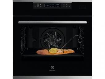 Electrolux KOBBS31X SteamBoost beépíthető gőzsütő, LCD kijelző, Assisted Cooking, maghőmérő, XXL