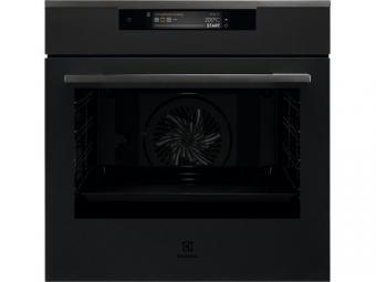 Electrolux KOEAP31WT SenseCook fekete beépíthető sütő, pirolitikus tisztítás, TFT érintőkijelző, Assisted Cooking, WIFI, maghőmérő