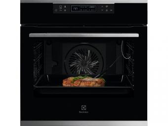 Electrolux KOEBP31X SenseCook beépíthető sütő, pirolitikus tisztítás, LCD kijelző, Assisted Cooking, maghőmérő