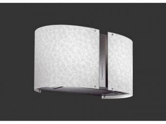 Falmec Round 67 fali páraelszívó, választható üvegmintával