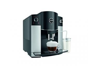 Jura D6 Platin Automata kávéfőző 15bar Fekete-Ezüst