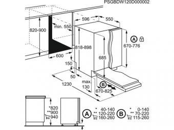 Progress PVX1571 beépíthető mosogatógép - minta darab